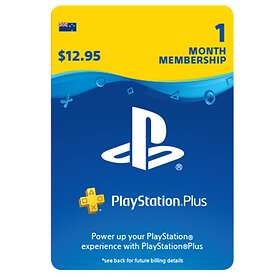 Sony PlayStation Plus 1 Month Subscription Card