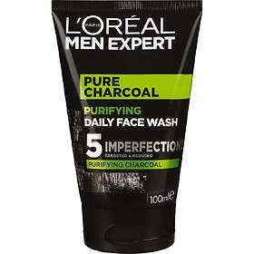 L'Oreal Men Expert Pure Charcoal Purifying Daily Face Wash 100ml