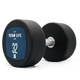 Titan Life Dumbbell PU 32kg