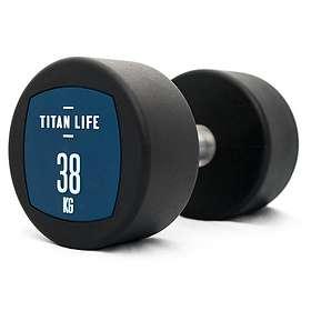 Titan Life Dumbbell PU 38kg
