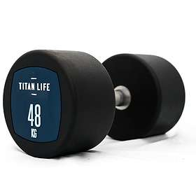 Titan Life Dumbbell PU 48kg