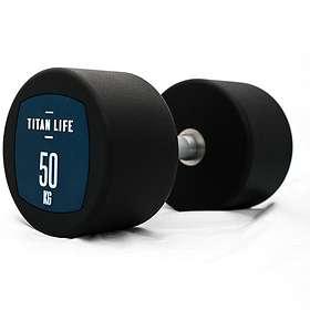 Titan Life Dumbbell PU 50kg
