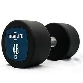 Titan Life Dumbbell PU 46kg
