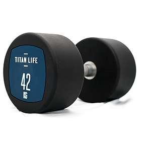 Titan Life Dumbbell PU 42kg