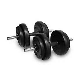 InSportLine Disc Manual Pro Dumbbells 2x20kg