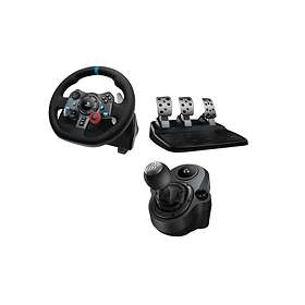 Logitech G29 Driving Force + Shifter Bundle (PC/PS3/PS4)