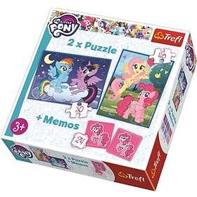 Trefl Palapelit Memo My Little Pony 2in1