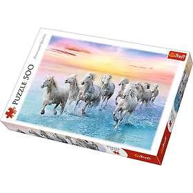 Trefl Galloping White Horses 500 Palaa