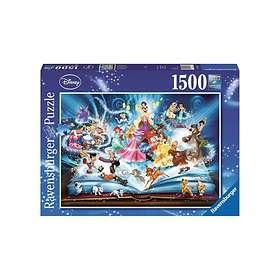 Ravensburger Palapelit Disney Magic Fairy Tales 1500 Palaa