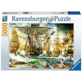 Ravensburger Palapelit Sailing Ship Battle 5000 Palaa