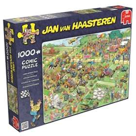 Jan Van Haasteren Pussel Lawn Mower Race 1000 Bitar