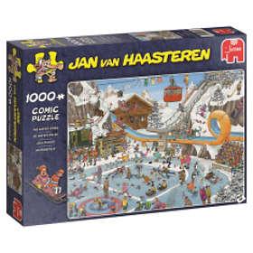 Jan Van Haasteren Palapelit The Winter Games 1000 Palaa