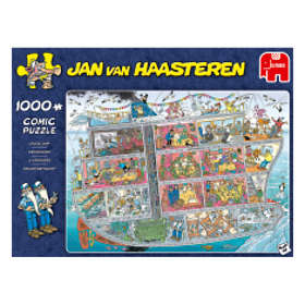 Jan Van Haasteren Pussel Cruise Ship 1000 Bitar