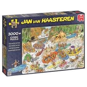 Jan Van Haasteren Pussel Wild Water Rafting 3000 Bitar