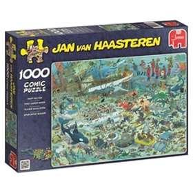 Jan Van Haasteren Pussel Deep Sea Fun 1000 Bitar