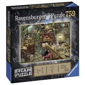 Ravensburger Palapelit Escape 3 Kitchen of a witch 759 Palaa