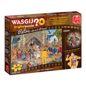 Wasgij Pussel Original 4 Retro A Day To Remember 1000 Bitar