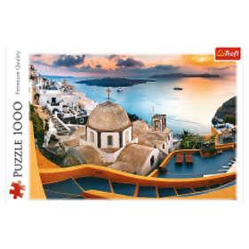 Trefl Premium Quality Palapelit Fairytale Santorini 1000 Palaa