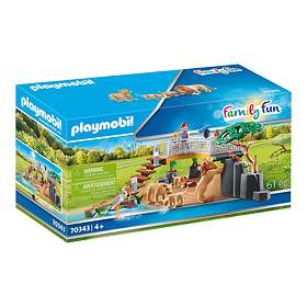 Playmobil Family Fun 70343 Enclosure With Lions