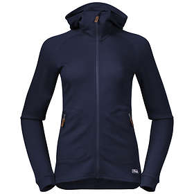 Bergans Tuva Light Wool Hood Jacket (Dame)