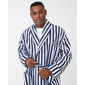 Lexington Striped Cotton-Mix Terry Robe (Herr)
