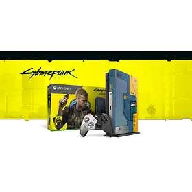 Microsoft Xbox One X 1To Cyberpunk 2077 Limited Edition Bundle