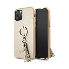 Guess Saffiano Hard Case with Ring Stand for iPhone 11 Pro