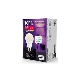 TCP Lighting Smart WiFi Classic RGB-W 806lm E27 9W (Dimmable)