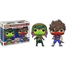 Funko POP! Marvel vs. Capcom MvC Gamora, Strider (2 Pack)