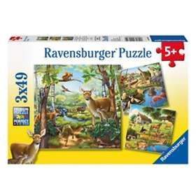 Ravensburger Forest/Zoo/Domestic Animals 147 Palaa