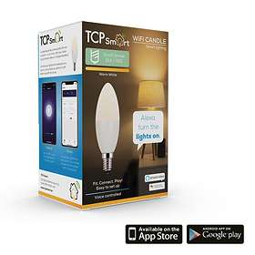 TCP Lighting Smart WiFi Candle 470lm 2700K E14 5W (Dimmable)