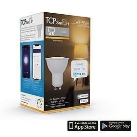 TCP Lighting Smart WiFi 380lm 2700K GU10 4,5W (Kan dimmes)