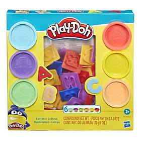 Play-Doh Letters (6-pack)