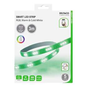 Deltaco Smart LED Strip RGB SH-LS3M (3m)