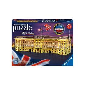 Ravensburger Palapelit 3D Buckingham Palace Night Edition 216 Palaa