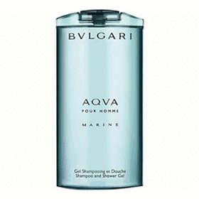 BVLGARI Aqva Pour Homme Marine Shampoo & Shower Gel 200ml