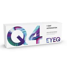 Cooper Vision EyeQ One-Day Air For Astigmatism Q4 (30-pakning)
