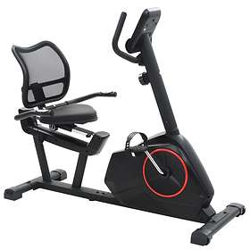 vidaXL Magnetic Recumbent Excercise Bike With Pulse Measurement