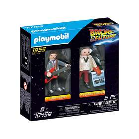 Playmobil Back to the Future 70459 Marty Mcfly Et Dr. Emmett Brown