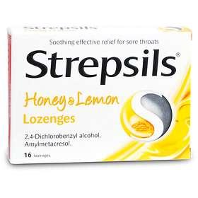 Strepsils Honey & Lemon Lozenges 16 Sugtabletter