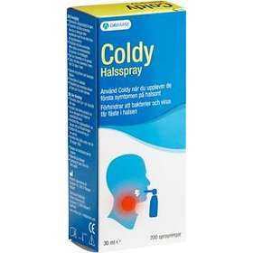 Orifarm Coldy Halsspray 30ml