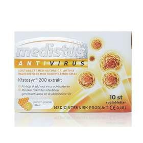 Nutrinovate Medistus AntiVirus 10 Sugtabletter