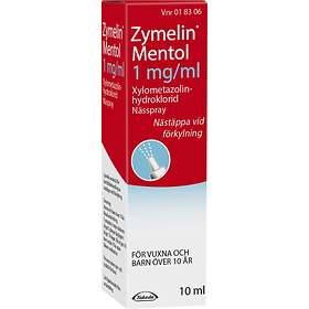 Nycomed Zymelin Mentol Nässpray 1mg/ml 10ml