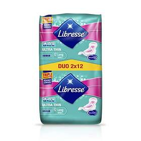 Libresse Ultra Thin Long Wings Duo (24-pack)