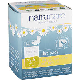 Natracare Ultra Pads Regular Wings (14-pack)