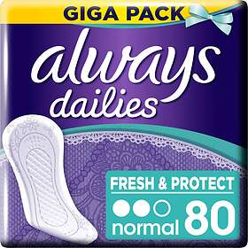 Always Dailies Fresh & Protect Normal (80-pack)