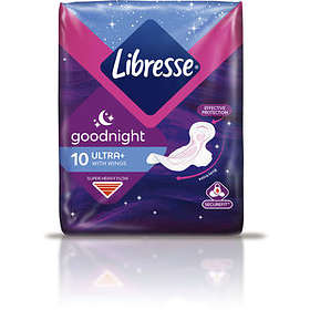 Libresse Goodnight Ultra+ Wings (10-pack)
