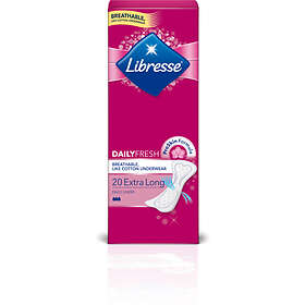 Libresse Dailies Fresh Extra Long (20-pack)