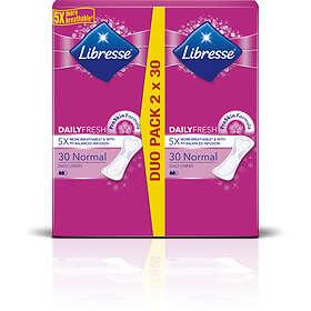 Libresse Dailies Fresh Regular Duo (60-pack)
