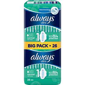 Always Ultra Normal Wings Duo (26-pack)